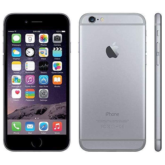 Smartphone Apple iPhone 6 16 Go Space Gray Grade B