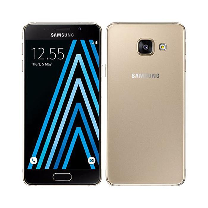 Smartphone Samsung A3 2016 SM-A310F 16 Go Gold Grade C