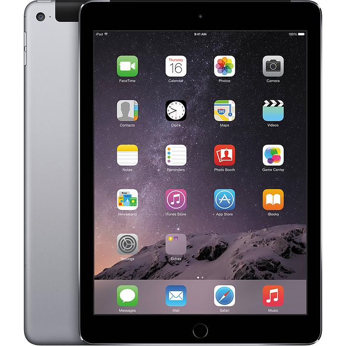Tablette Apple iPad Air Wifi 4G 64 Go Space Gray Grade C